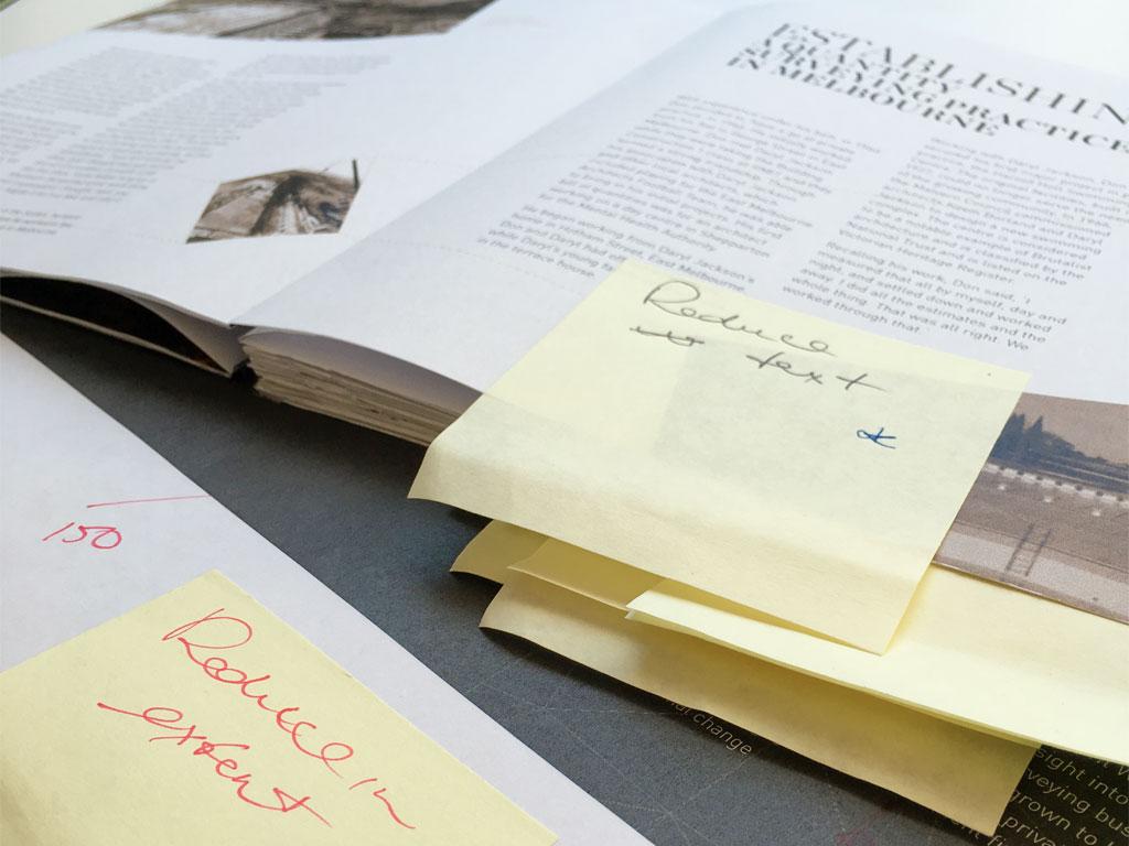 Donald Cant Watts Corke 50 Year Book layout feedbacks