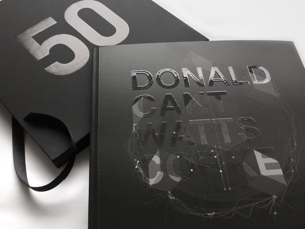 Donald Cant Watts Corke 50 Year Book Cover