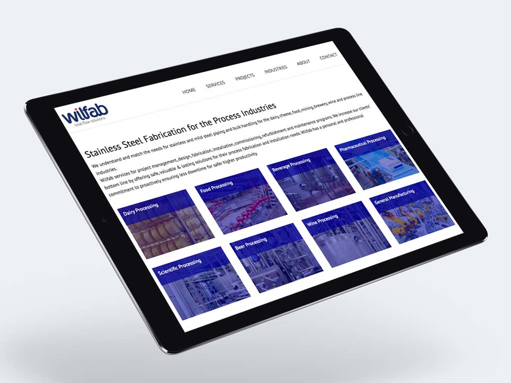 Responsive web design for ipad